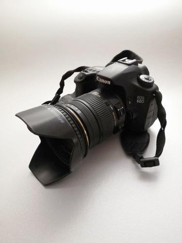Canon 60d 18mp + Sigma 17-50 2.8