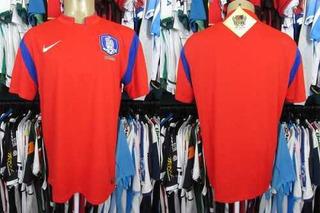 Coréia Do Sul 2014 Camisa Titular Tamanho G.
