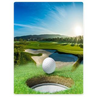 Mantas Sofá Cama Manta Ligero Cozy Plush Golf Course