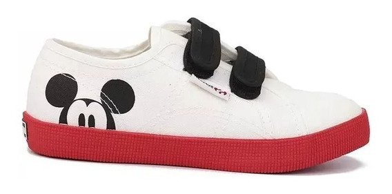 Zapatillas Nene Nena Superga Cartoon Velcro Importadas