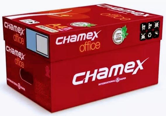 Caixa C/10 Resmas Papel Sulfite Chamex A4 75g 210 X 297mm