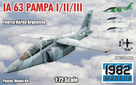 Maqueta Para Armar De Avión Fma Ia 63 Pampa (1/72)