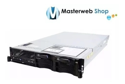 Servidor Ibm X3650 32gb - 2x Xeon Quadcore - Hd Sas 146 Gb