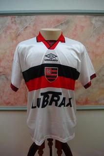 Camisa Futebol Flamengo Rio Janeiro Umbro Jogo Antiga 387