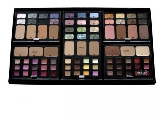 Tablero Maquillaje Profesional Heburn Original Kit Completo