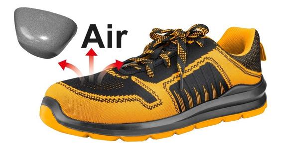 Zapato Trabajo Deportivo Air Ingco Con Puntera Reforzada
