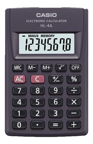 Calculadora De Bolso Casio Hl-4a-s4-dp