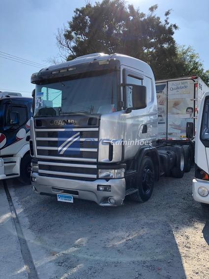 Scania R124 360 R360 6x4 Traçado 2004 = Iveco Mb Volvo Daf