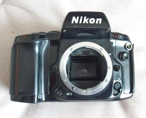 Câmera Nikon N90 (f90) Analógica Para Filmes Em Ótimo Estado