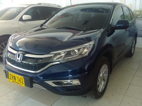 Honda Cr-v Ex 2016 4x4 Azul
