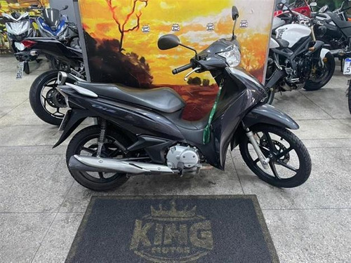 Imagem 1 de 9 de Honda Biz 125 - Cinza- King Motos