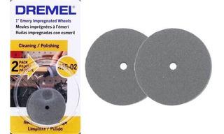 Disco Para Pulir Dremel 425 Minitorno Dremel 425-02 Por 2 U