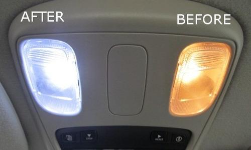 Luz Blanca Led Audi Kit Completo Para Interior, Placas,etc