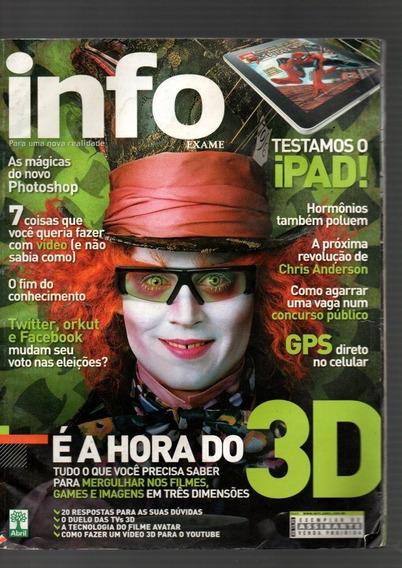 Kit 4 Revistas Info Exame Temas E Anos Diversos