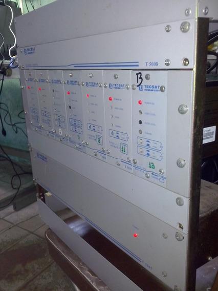 Rack Sistema Coletivo 7 Entradas Rca Tecsat