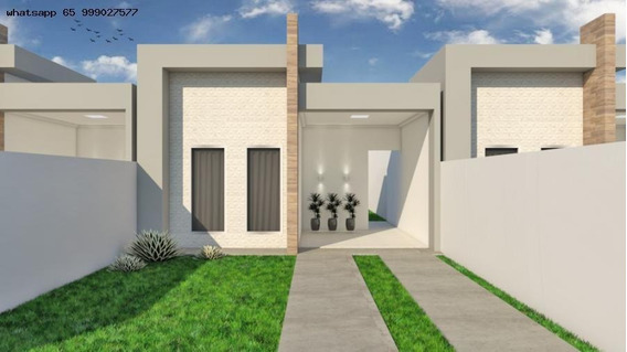 Casa Para Venda Em Várzea Grande, Parque Do Lago, 2 Dormitórios, 1 Suíte, 1 Banheiro, 2 Vagas - 109_1-1247382