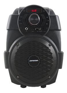 Parlante Panacom Stage Sound S49 portátil inalámbrico Negro