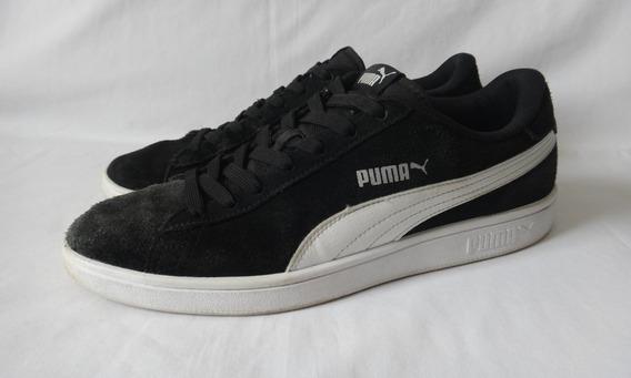 Tênis Puma Smash V2 Preto Original - Tam: 41