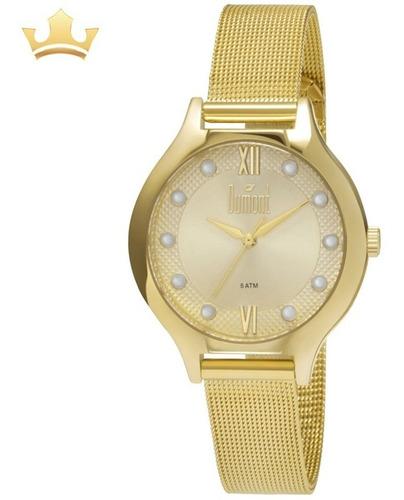 Relógio Dumont Feminino Du2035loc/k4d C/ Garantia E Nf