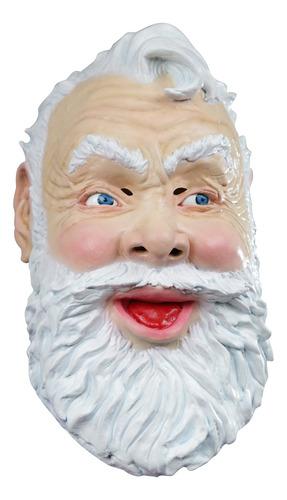 Imagen 1 de 1 de Máscara De Santa Claus Papa Noel Navidad