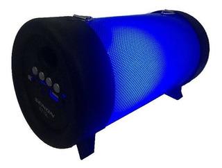 Parlante Portátil Bluetooth Bazooka Led Usb Sd Fm Senon