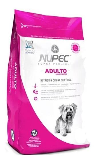 Croquetas Alimento Para Perro Adulto Raza Pequeña 2 Kg Nupec