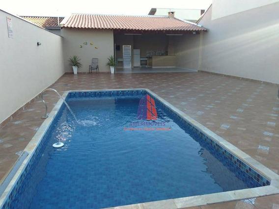 Área De Lazer Com 1 Dormitório À Venda, Por R$ 320.000 - Residencial Parque Rochele Ii - Santa Bárbara D