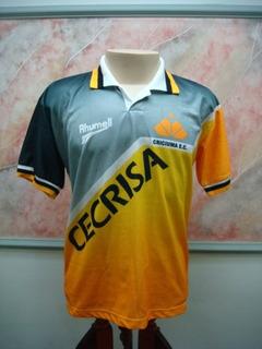 Camisa Futebol Criciuma Sc Rhumell Jogo Antiga 300