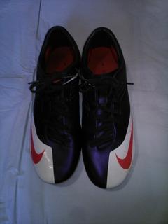 Zapatos Nike Mercurial De Tacos Fútbol. 50 Verdes