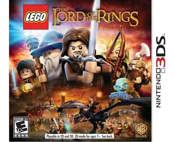 Lego The Lord Of The Rings - 3ds - Em Português!