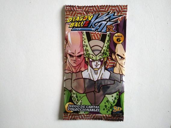Cartas Dragon Ball Z Serie 6 (pack X 20 Sobres)