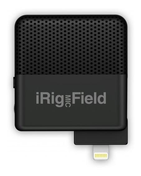 Irig Mic Field Ik Microfone Para iPhone iPad E iPod Touch