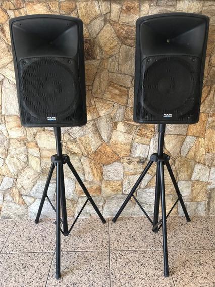 Caixas De Som Mark Audio Mais Baratas Do Ml!