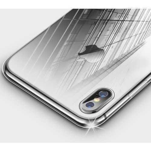 Funda iPhone X Estuche Protector Transparente Protege Camara