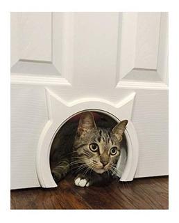 The Kitty Pass, Puerta De Interiores Para Gato Oculta