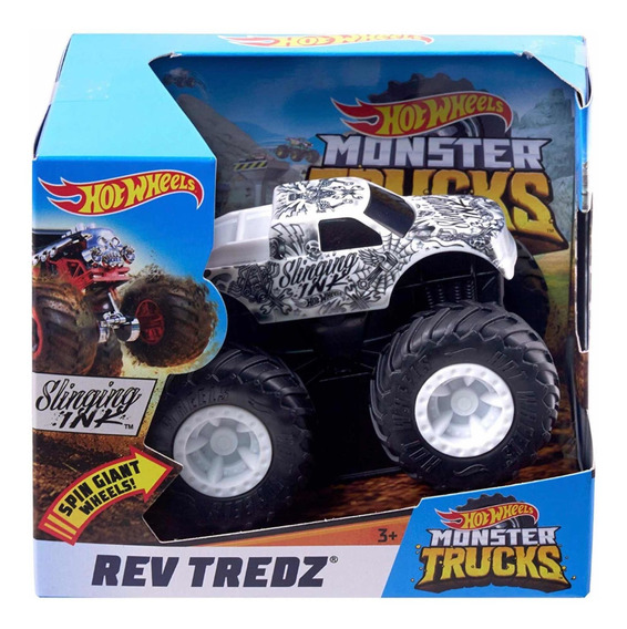 Hot Wheels Rev Tredz Monster Truck Escala 1:43 C/u Original