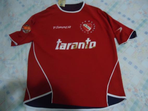 Topper - Camisa Do Independiente - Original - Tam G - Usada