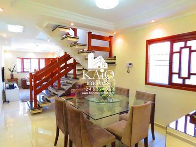 Sobrado Com 4 Dormitórios À Venda, 198 M² Por R$ 695.000