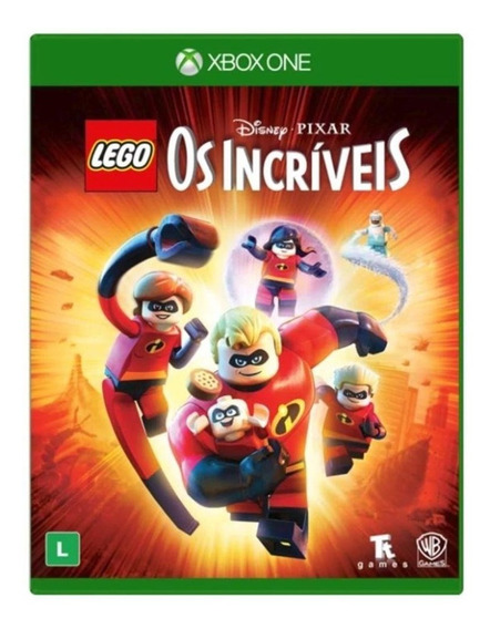 Lego Os Incríveis - Xbox One - Mídia Física - Novo - Física