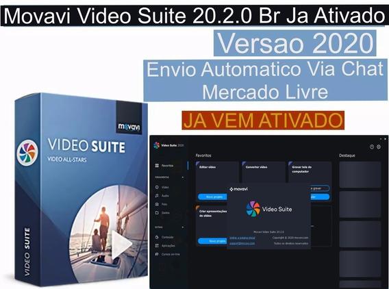 Movavi Video Suite 20.2.0 Br Envio Imediato