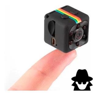 Mini Camara Espia Vision Nocturna Full Hd Detección De Movimiento Micro Sd Sq11