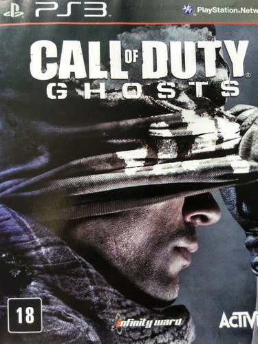 Call Of Duty Ghosts Ps3 Original , A Pronta Entrega