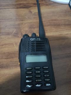 Radio Ht Vhf Voyager Gp78 Elite Sem Base De Carregamento