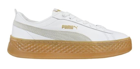 Tênis Puma Smash Platform Feminino 368002 + Brinde | Radan