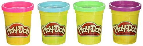 Juguete Didactico Plastilina Modeladora 4 Latas Play-doh