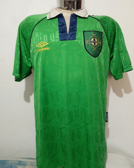 Camiseta De La Selección De Irlanda Umbro Del 90 Talle L