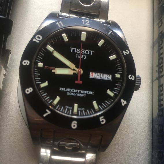 Relógio Tissot Automático Prs516 Racing Usado E Completo