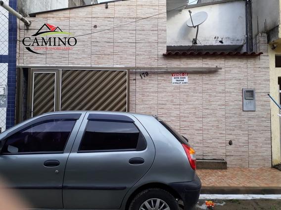 Casa A Venda No Bairro Morrinhos Em Guarujá - Sp. - 2014-1