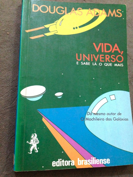 Vida, Universo... Douglas Adams 1º Edição, 1988 Livro Origin