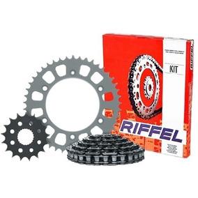 Kit Transmissão/relação Riffel Titan/fan125-150 Colocada!